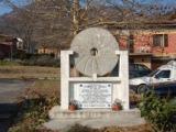 Pian di Venola: monumento a ricordo di Tommaso Grilli